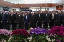 روحانی: تکمیل کریدور ریلی جنوب - شمال زنجیره ای از روابط تجاری از شرق تا اروپا ایجاد می کند/ بزودی راه آهن ایران و عراق متصل می شود