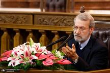 لاریجانی: نمایندگان مجلس طبق قانون در اظهارنظر باید مصون باشند/ جلوی دخالت بخشهای امنیتی در امور اقتصادی گرفته شود
