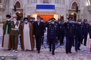 تجدید میثاق فرماندهان نیروی هوایی ارتش با آرمان های حضرت امام(س)