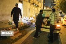 توزیع ۲۲۰ بسته غذایی بین نیازمندان و بیماران یزد