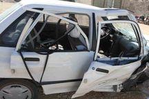 تصادف در جاده آبعلی ۲ کشته و ۲ زخمی داشت