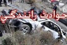 واژگونی پژو در تربت حیدریه و مرگ 2 نفر