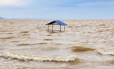 دریاچه ارومیه جان دوباره گرفت+ ویدیو