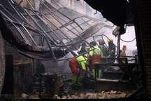 علت آتش سوزی بازار تبریز با لحاظ نظر کارشناسان دادگستری اعلام می شود