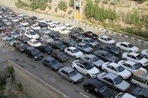 جاده کرج - چالوس پرترافیک  است