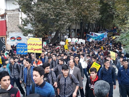 مسیرهای راهپیمایی یومالله ۱۳ آبان در شهرهای لرستان اعلام شد