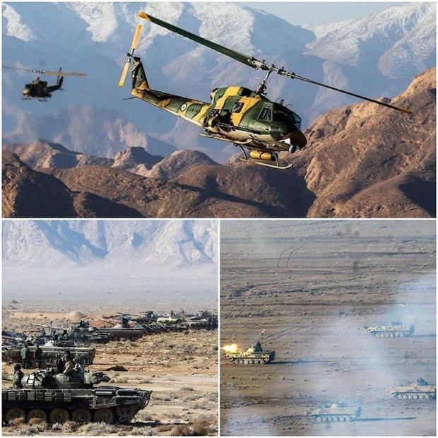 پایان رزمایش غیرمترقبه نیروی زمینی ارتش