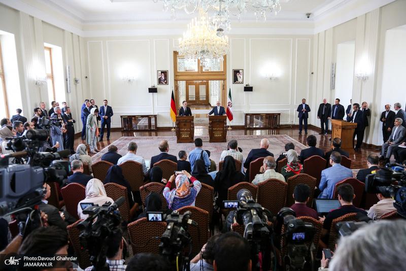 دیدار وزیر خارجه آلمان با ظریف