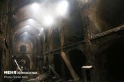 ۴۰ واحد تجاری در بازار بابل درآتش سوخت  مصدومیت ۴ آتش نشان