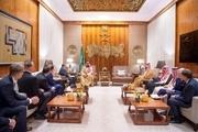 گستاخی بنسلمان درباره ایران در یک محفل صهیونیستی + عکس