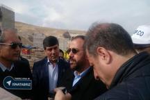 بازدید معاون پارلمانی رئیس جمهور از خط آهن بستان آباد-تبریز