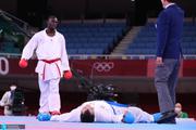 المپیک 2020 توکیو  فحاشی سعودیها به داور فینال کاراته+ عکس
