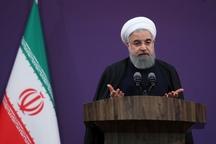 روحانی: اکثریت قاطع کشورهای دنیا مختلف تحریم ایران هستند