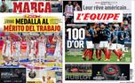 تیتر روزنامه ورزشی امروز اروپا