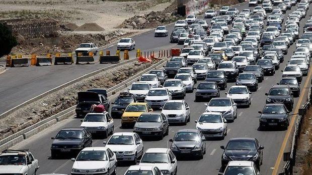 تردد بالغ بر ۲ میلیون وسیله نقلیه در محورهای آذربایجان غربی طی تعطیلات عید فطر