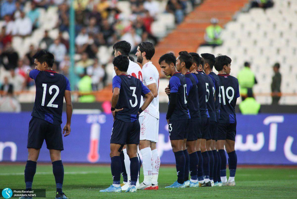 معرفی داوران جدال ایران و کامبوج در مقدماتی جام جهانی 2022