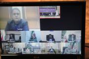 ویدئو کنفرانس فرمانداران یزد برگزار شد