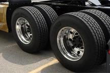 123 حلقه لاستیک بین کامیون داران مهابادی توزیع شد