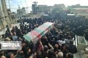 پیکر شهید جانباز مدافع حرم در دزفول تشییع شد