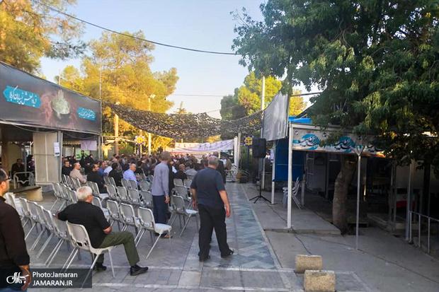 مراسم هیات گردان تخریب به مناسبت هفته دفاع مقدس برگزار شد