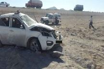 واژگونی خودروی سواری در کاشان یک کشته داشت