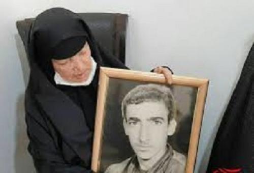 34 سال دوری شهید علی محمد قنبری از آغوش مادر پایان یافت