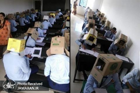 تصاویر غیرعادی از دانش آموزان جنجالی شد+ تصاویر