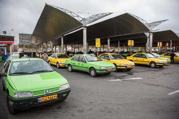 غیب شدن تاکسی های پلاک اروند در فرودگاه اهواز
