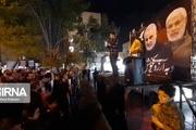 اجتماع خودجوش مردم اهواز در حمایت از اقدام غرورآفرین سپاه