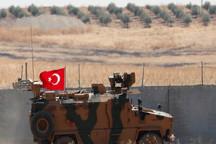 نیروهای زمینی ارتش ترکیه وارد خاک سوریه شدند