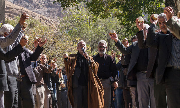 جغجغهزنی روستای انجدان اراک رسمی کهن در عزاداری حسینی