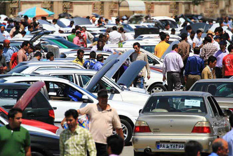 خودروهای احتکار شده در راه بازار