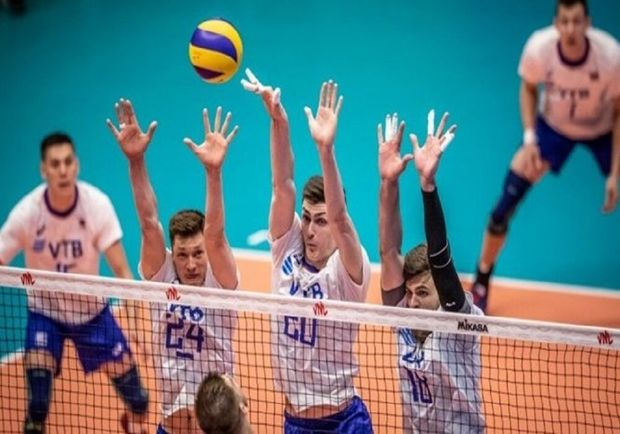 سد روسیه پیشروی والیبال المپیکی ایران