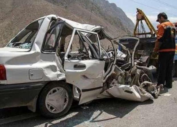 سانحه رانندگی دشتستان یک کشته و هفت مصدوم داشت