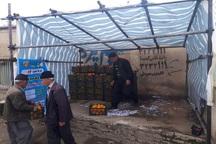 29 نقطه شهر سنندج در اختیار عرضه کنندگان میوه شب عید قرار گرفت
