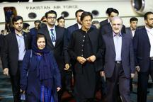 ورود نخست وزیر پاکستان به تهران