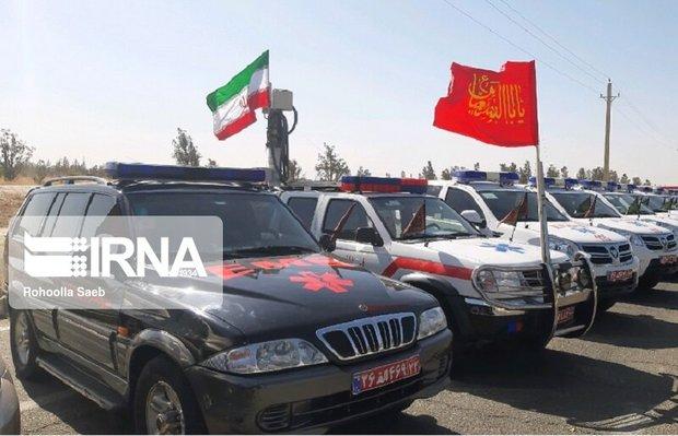 ۱۷ هزار نیروی فوریت پزشکی به مرزهای غربی کشور اعزام شدند