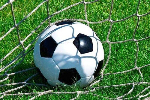 نبرد صدرنشینان لیگ یک فوتبال در کرج