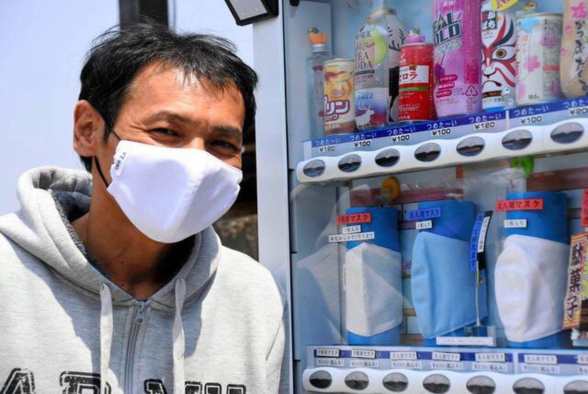 ماسکهای خنک کننده؛ خلاقیت ژاپنیها برای رعایت شیوه نامههای بهداشتی
