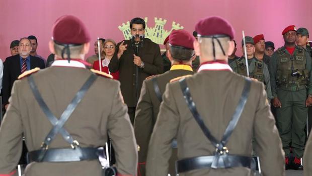 دستور آماده باش مادورو به ارتش برای مقابله با حمله احتمالی کلمبیا