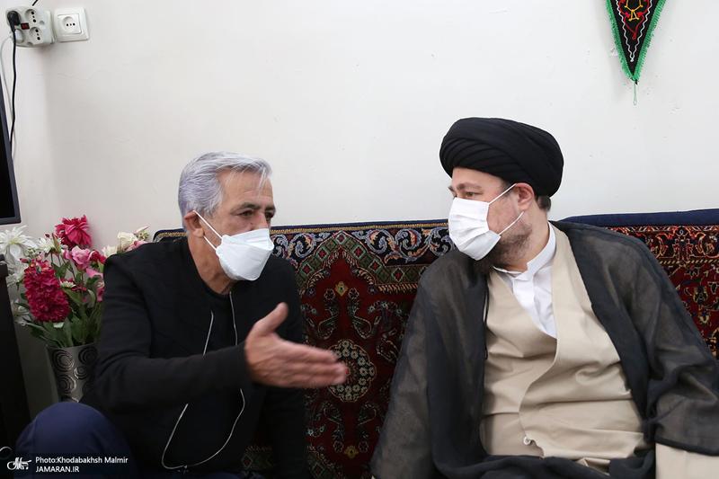 حضور سید حسن خمینی در منزل مرحوم حجت کسری
