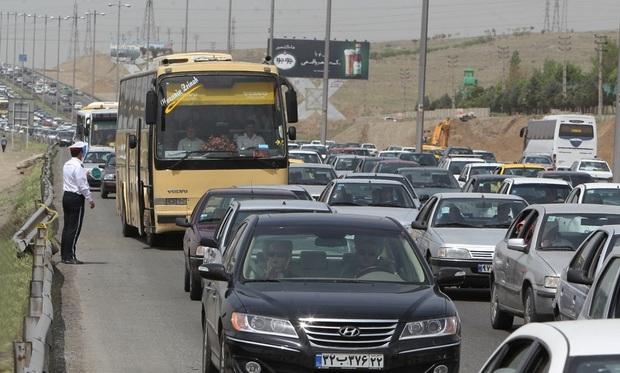 ثبت بیش از 9 و نیم میلیون تردد در محورهای استان سمنان