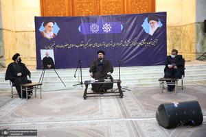 دیدار مدیران گزینش کل شهرداری تهران با سید حسن خمینی