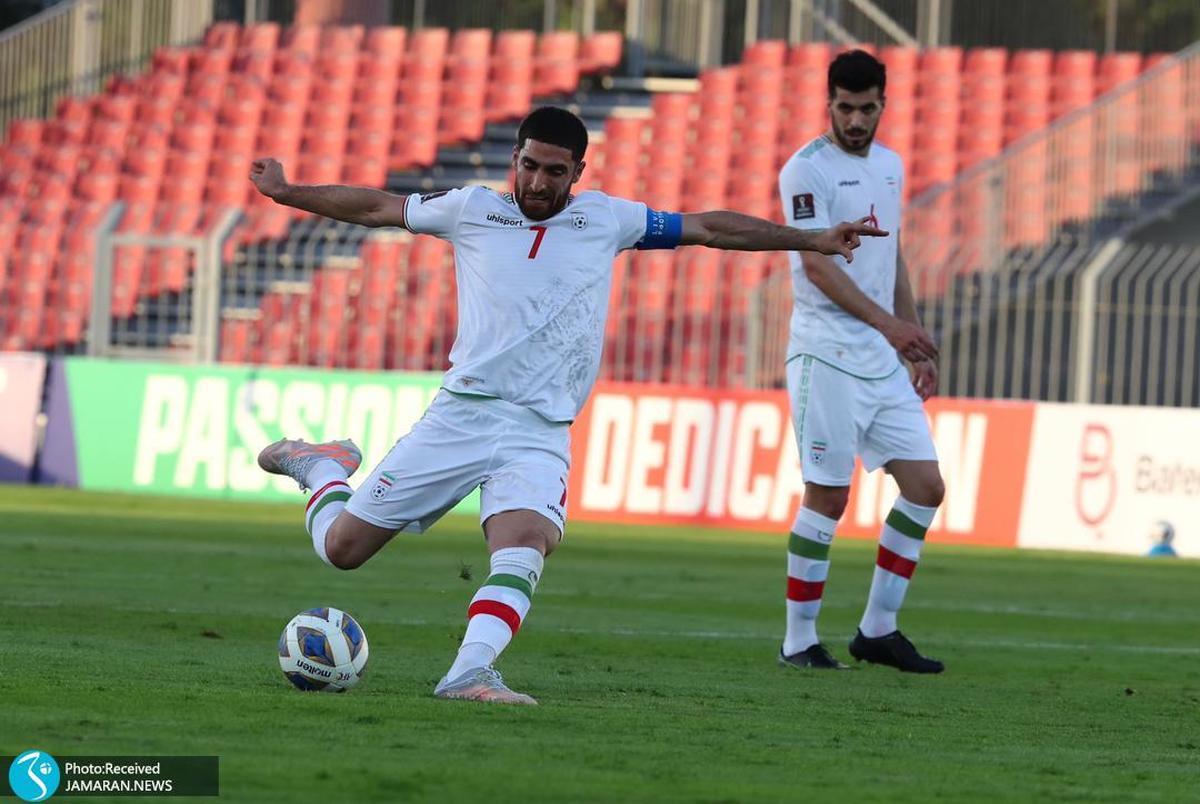 اتفاق عجیب در آستانه بازی ایران و عراق+عکس