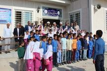 دو واحد آموزشی در مناطق روستایی گنبدکاووس افتتاح شد