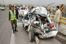 تصادف در محور ازنا به اراک 2 کشته و چهار زخمی برجا گذاشت