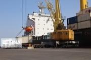 پهلوگیری دومین کشتی حامل گندم اهدایی به افغانستان در بندرچابهار