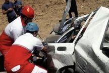 بی توجهی راننده پراید ۲ نفر را به کام مرگ کشاند