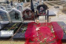 پیکر سردار شهید سلیمانی در گلزار شهدای کرمان آرام گرفت