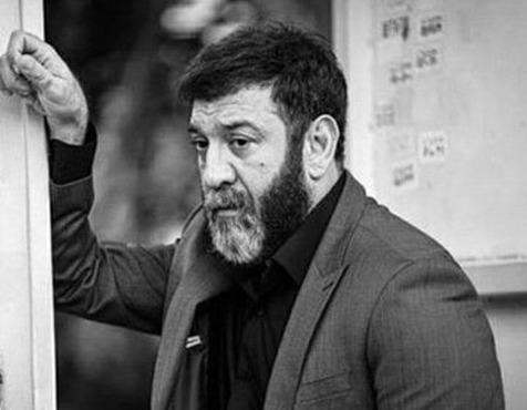 آماده سازی سنگ قبر علی انصاریان +ویدیو